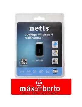 Antena de red Netis WF2123