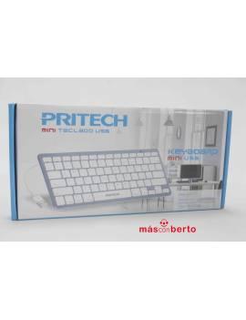 Mini teclado USB Pritech...