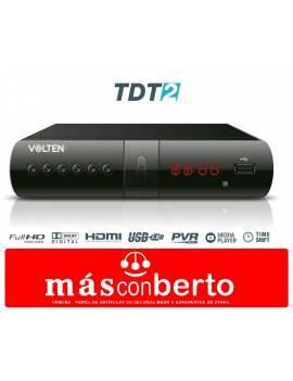 TDT 2 con USB Volten VL1086