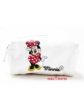 Neceser minie Mouse blanco