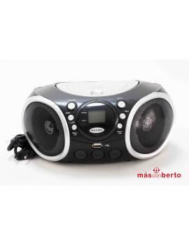 Radio Fm/CD Daewoo negro