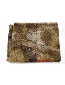 Red de camuflaje militar Árido