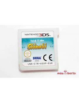 Juego 3DS Shinobi