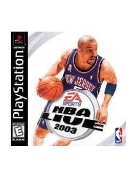 Juego PS1 NBA Live 2003