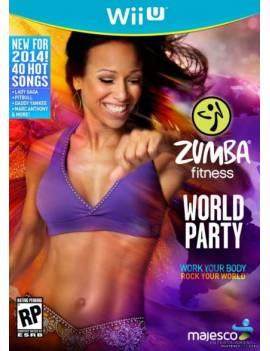 Juego WII U Zumba fitness...