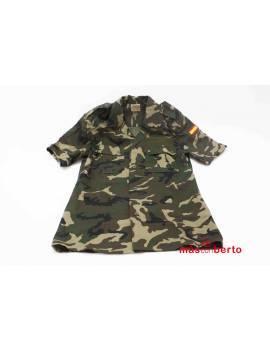 Camisa militar boscosa Talla 1