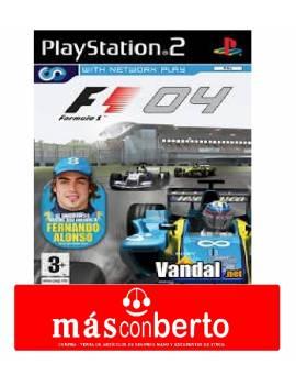 Juego PS2 F1 04
