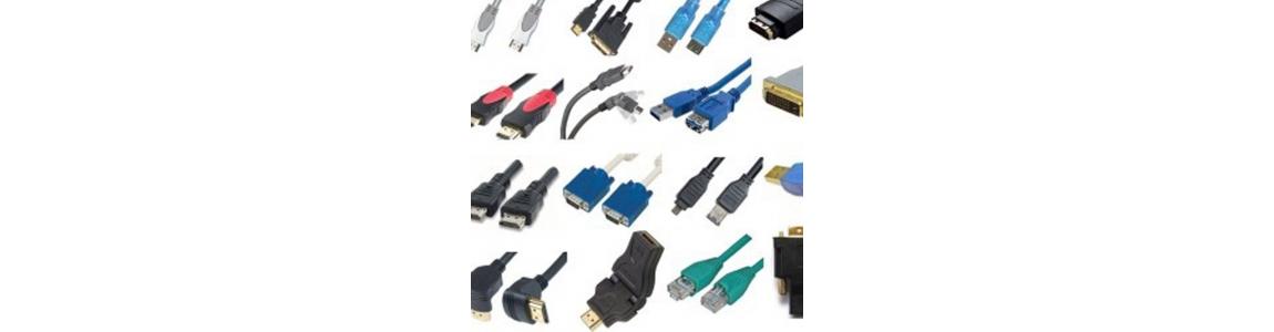 Cables y conectores informática
